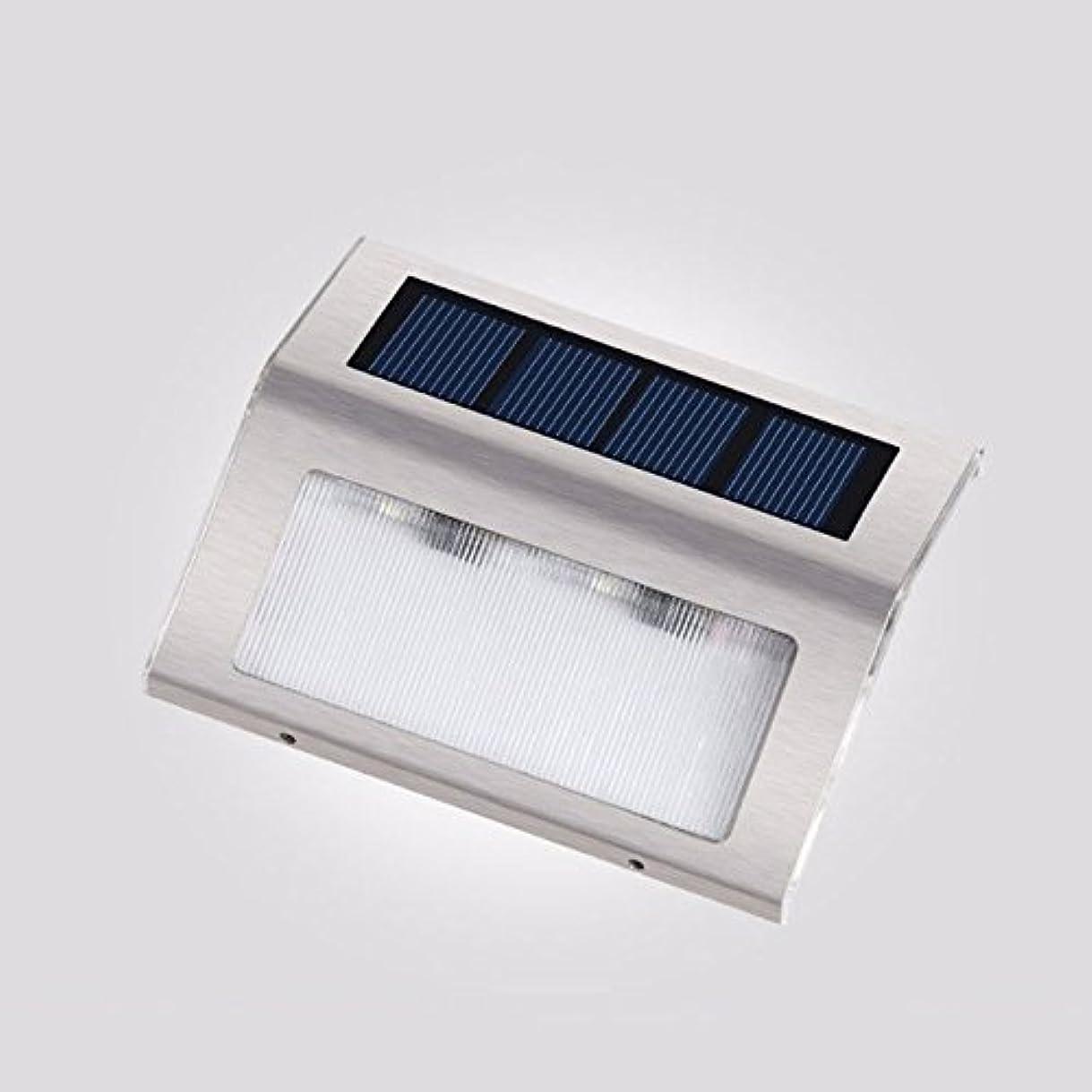 コテージ生息地所持ソーラーステッドライト、LEDライトソーラーパワードライト屋外照明庭、フェンス、パティオ、庭、歩道、ドライブウェイ、外壁、防水、自動、5パック