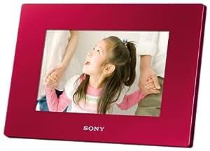 ソニー SONY デジタルフォトフレーム S-Frame DR720 7.0型 内蔵メモリー2GB レッド DPF-D720/R