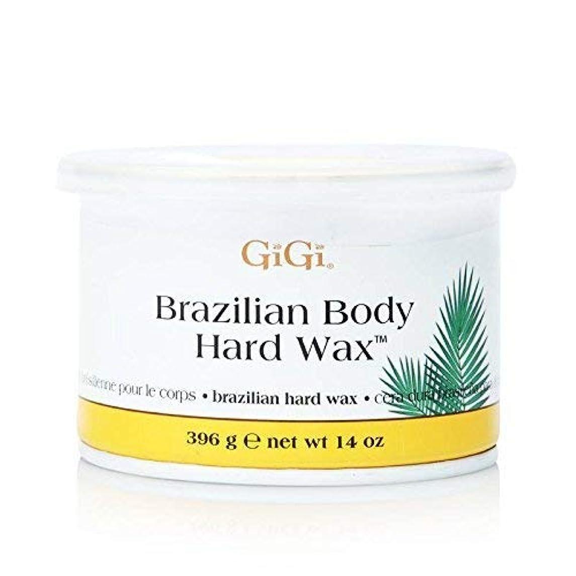 GiGi ブラジリアン ボディー ハードワックス ビキニライン用 395g [並行輸入品]