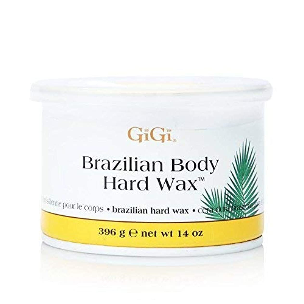 流行している応用瞑想するGiGi ブラジリアン ボディー ハードワックス ビキニライン用 395g [並行輸入品]