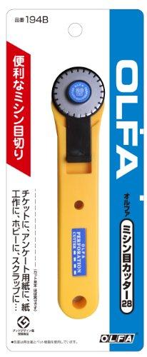 オルファ:OLFA ミシン目カッター28