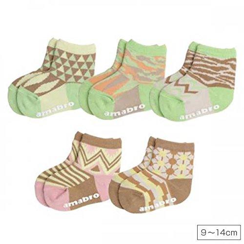 amabro アマブロ BAB SOCKS [ WARM9~14cm / BOY ] 靴下 5足セット