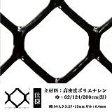 ネトロンシート ネトロンネット CLV-WF-1-1240 黒 大きさ:幅1240mm×長さ28m 切り売り