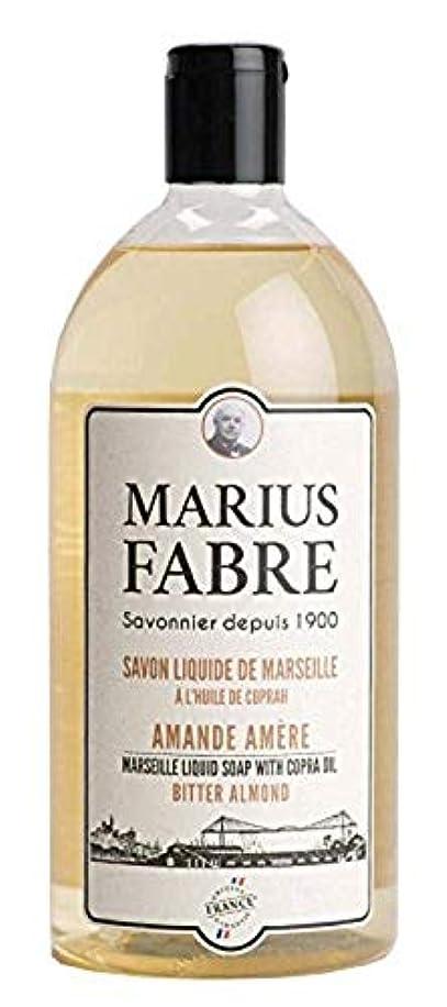 定期的な白菜生きているサボンドマルセイユ 1900 リキッドソープ ビターアーモンド 1000ML