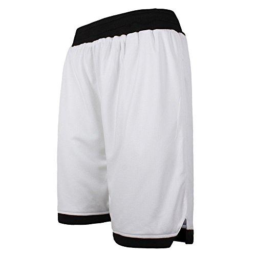 ショートパンツ メンズ スポーツ ハーフパンツ FOR ランニング フィットネス 10色 [メンズ] (イーヨウ)EU ホワイト・ブラック XL