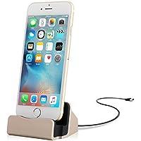 Yammy Micro usb充電スタンド ケーブル付き スマホケースのままで充電できる iPhoneでもandroidでも適応 (iphone用)