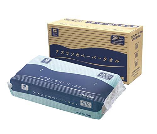 アズワンのペーパータオル 1ケース(200枚 袋×30袋入)/7-6200-02