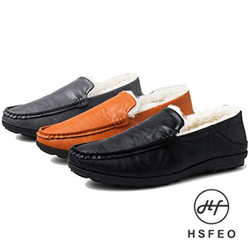 [HSFEO] シークレットシューズ メンズ パンプス ボア...