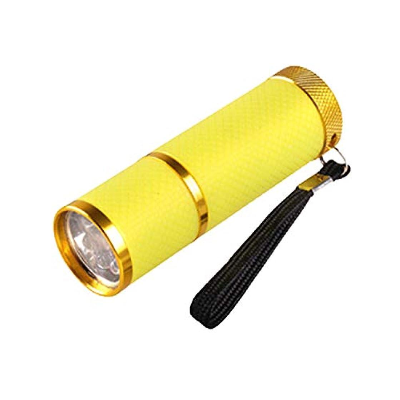 噛む承知しましたジャンクネイル?レジンクラフト LED UVライト イエロー BY-NL550 ネコポス発送 送料無料