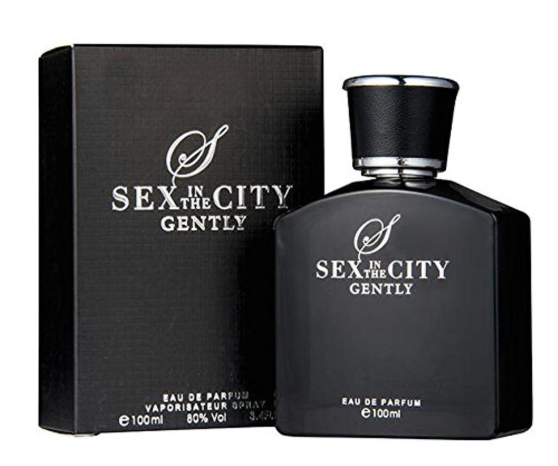 論理的に性格ファンシー◆【SEX IN THE CITY】メンズ香水◆セックスインザシティ ジェントリー オードパルファムEDP 100ml◆
