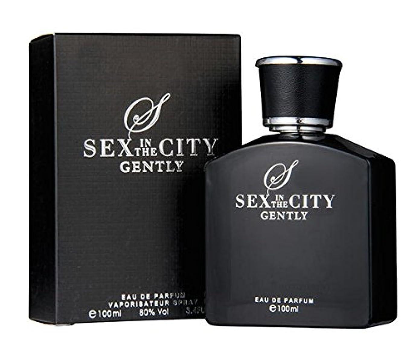 ピット好ましい駐地◆【SEX IN THE CITY】メンズ香水◆セックスインザシティ ジェントリー オードパルファムEDP 100ml◆