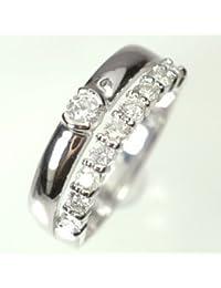 [キュートジュエリー]Cute jewerly ダイヤモンド 指輪 プラチナ ダイヤ0.5ct アニバーサリー10リング 9