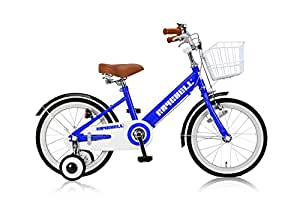 RayChell(レイチェル) 子ども用自転車 18インチ KCL-18R 前後フェンダー フロントバスケット付 フロントキャリパー/リアバンドブレーキ ブルー 31082