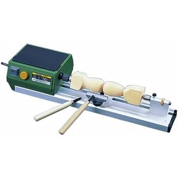 プロクソン(PROXXON) ウッドレースDX 卓上木工旋盤 幅広い作業が可能、別売のオプションも充実 No.27020