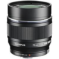 OLYMPUS 単焦点レンズ M.ZUIKO DIGITAL ED 75mm F1.8 ブラック