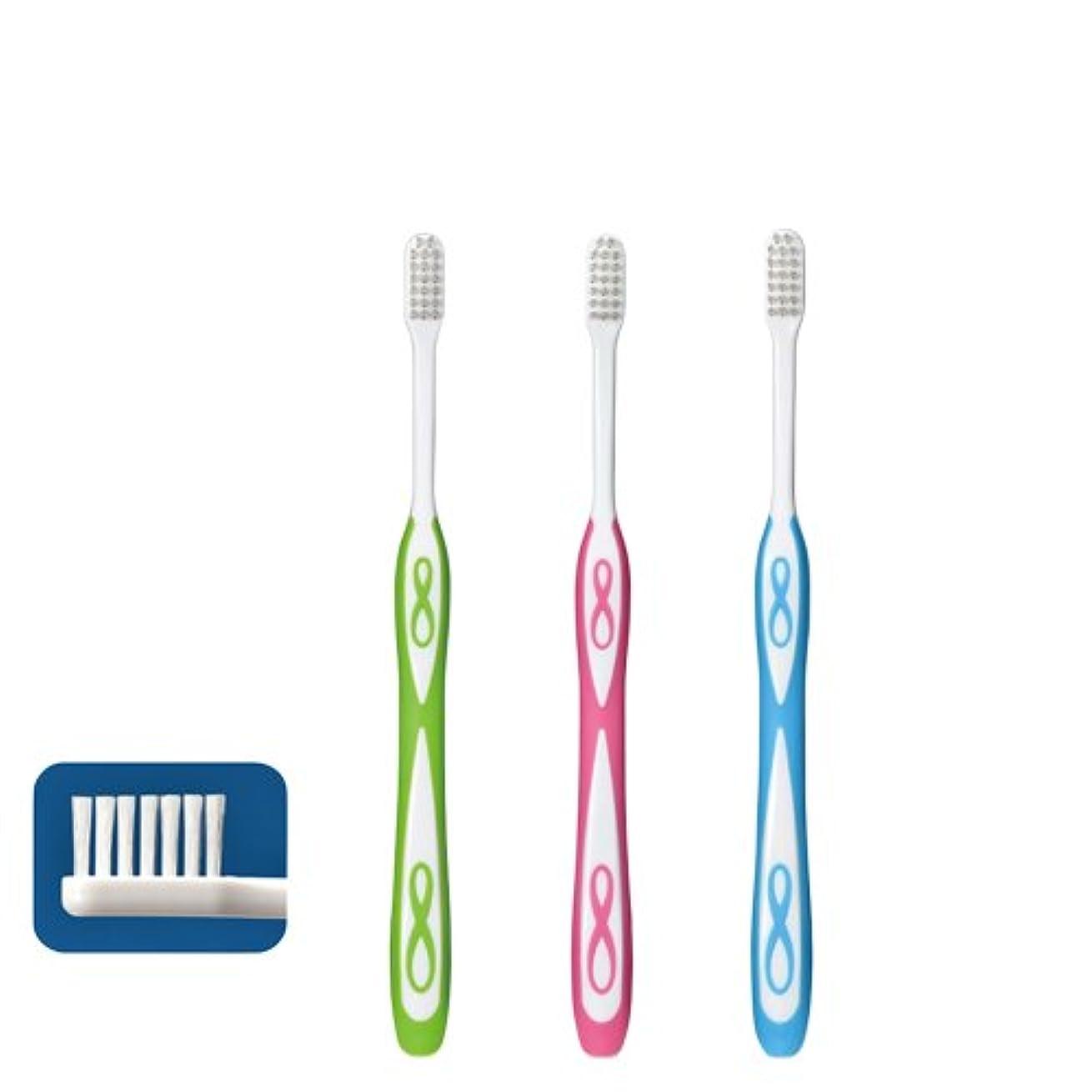 テクトニック大きさドレスLover8 ラバーエイト ラウンド毛歯ブラシ × 1本 M(ふつう)Ciメディカル 【歯科専売品】