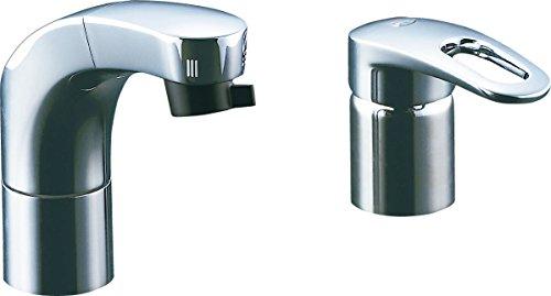 LIXIL(リクシル) INAX 洗面器・手洗器 台付 ホース引出式シングルレバー洗髪シャワー混合水栓 吐水口長さ135mm ホース引出し長さ約35cm SF-810SYU