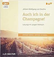 Auch ich in der Champagne!: Lesung mit Juergen Hentsch (1 mp3-CD)
