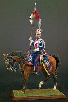 アンドレアミニチュア S8-F38 ポーランド槍騎兵( 1809年 )