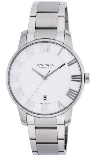 [ティファニー]Tiffany&Co. 腕時計 Atlas Dome シルバー文字盤 自動巻 Z18...