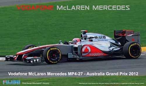 1/20 グランプリシリーズSPOTNo.33 マクラーレンMP4-27 オーストラリアGPドライバーフィギュア付
