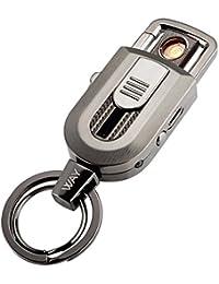 電子ライター VVAY キーホルダー 電熱ライター 電熱線  USB 充電式 防風 メンズ