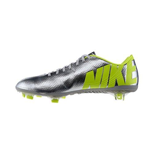 NIKE Mercurial Vapor IX FG Soccer Cleat- Metallic Silver/Black -Volt /サッカースパイク マーキュリアル ヴェイパー IX FG (7- 25.0cm)