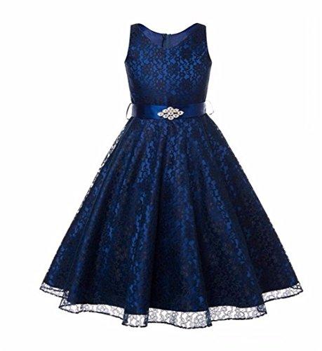 YUSHASHA (ユササ) 子供ドレス キッズワンピース ガールズ ピアノドレス フォーマル 欧米...