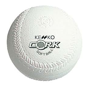 ナガセケンコー(KENKO) 新ケンコーソフトボール3号 コルク芯 1個売り S3C-NEW