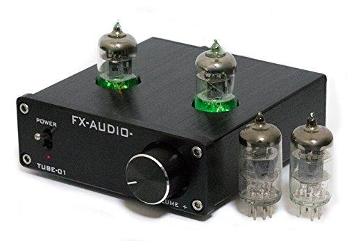 FX-AUDIO- TUBE-01 真空管4本付属/電源別売り [並行輸入品]