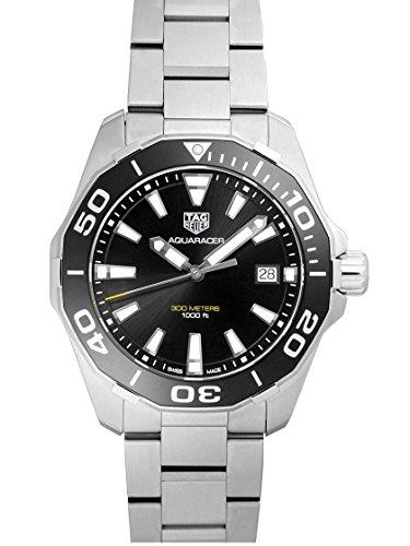 [タグホイヤー] TAG HEUER 腕時計 アクアレーサー 300m 41ミリ クォーツ ブラック WAY111.BA0928 メンズ 新品 [並行輸入品]