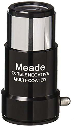 Meade Instruments #126 1.25-Inch 2x Short-Focus Barlow Lens [並行輸入品]