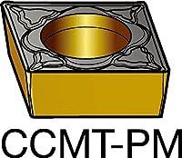 サンドビック コロターン107 旋削用ポジ・チップ 5015 (10個) CCMT 06 02 08-PM 5015