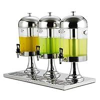 Mariny ステンレス鋼飲料機 - ワインコーヒーディスペンサージュースバレル飲料機セルフサービスコールドドリンク機、ホットとコールド。