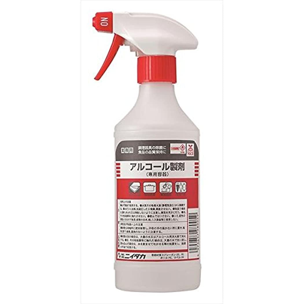 パイプ宿題をする防衛ニイタカ:アルコール製剤スプレーボトル 500ml×4 901127