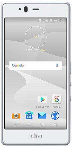 富士通 SIMフリースマートフォン arrows M04(ホワイト)【日本正規代理店品】 FARM06302