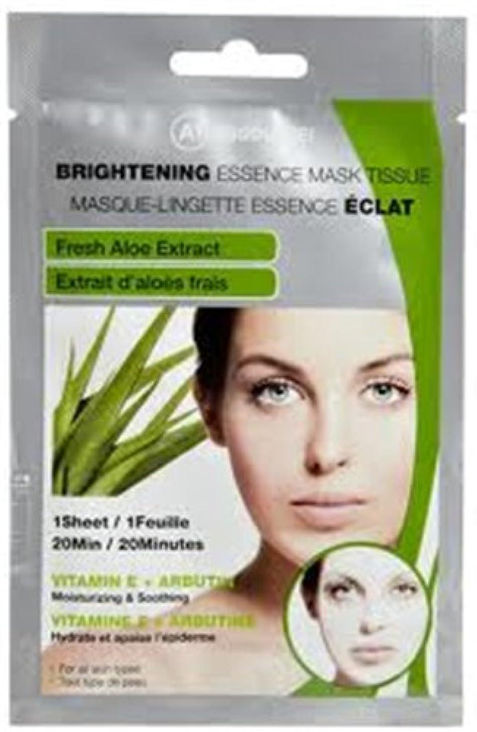 麻酔薬洗練手首ABSOLUTE Brightening Essence Mask - Fresh Aloe (並行輸入品)