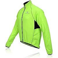Morethan サイクル ジャケット ウインドブレーカー 防風 バックポケット付き メンズ WVP-005