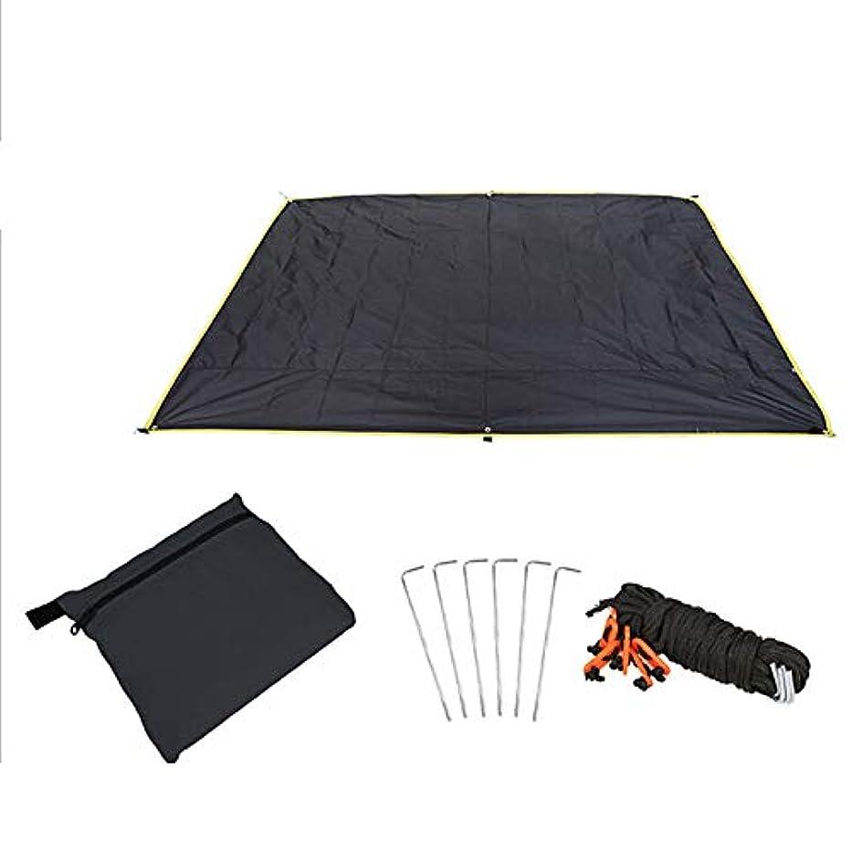 解釈冒険者ハンドブックLangba ピクニッククッション 折り畳み式 テントタープ 日焼け止め アウトドアマット 防湿パッド コンパクト 防水 断熱 多機能 収納袋付き アウトドア/キャンプ/ピクニックに適用 3サイズ