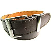 LE Mens Strong Quality Leather Belt