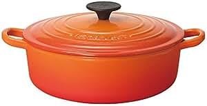 LE CREUSET ココット・ジャポネーズ 22cm オレンジ 25052-22-09