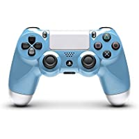 Metallic Light Blue and Metallic Gray Custom Painted PlayStation 4 and Controller by ColorWare [並行輸入品]