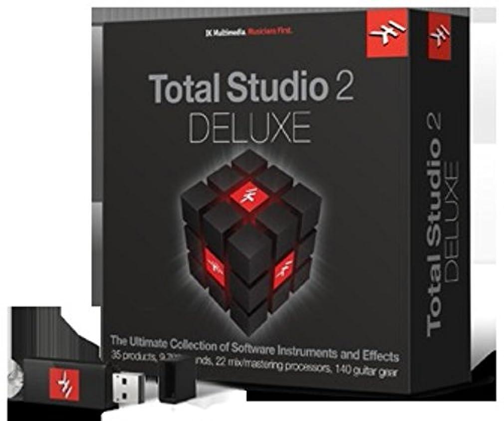 征服する複合法医学IK Multimedia Total Studio 2 Deluxe ソフトウェア音源 & エフェクト?バンドル【国内正規品】