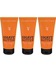 Van Der Hagen Shave Butter 6-ounce Times Three Value Pack | 18-Ounces Total [並行輸入品]