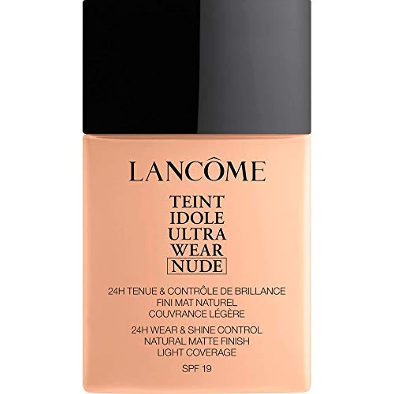 最初に地域強度[Lanc?me] ランコムTeintのIdole超摩耗ヌード財団Spf19の40ミリリットル005 - ベージュコートジボワール - Lancome Teint Idole Ultra Wear Nude Foundation...