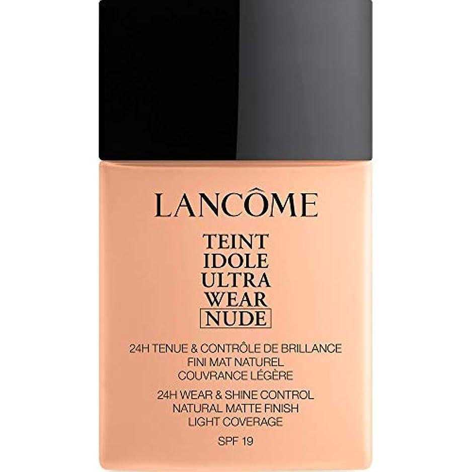 火山学者欠伸さようなら[Lanc?me] ランコムTeintのIdole超摩耗ヌード財団Spf19の40ミリリットル005 - ベージュコートジボワール - Lancome Teint Idole Ultra Wear Nude Foundation...