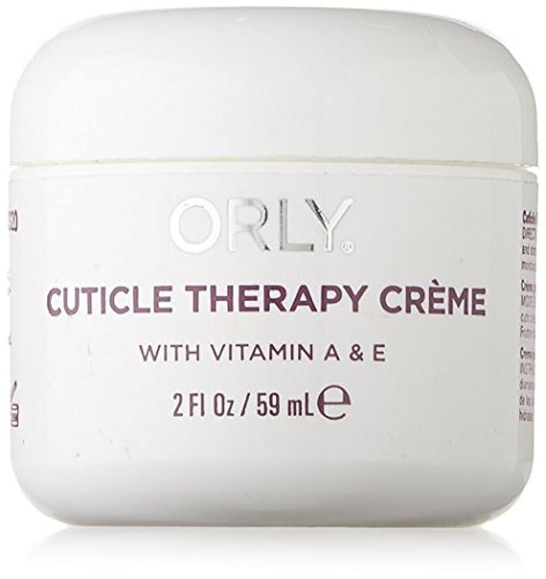 びん仲間、同僚覆すOrly Nail Treatments - Cuticle Therapy Creme - 2oz/59ml