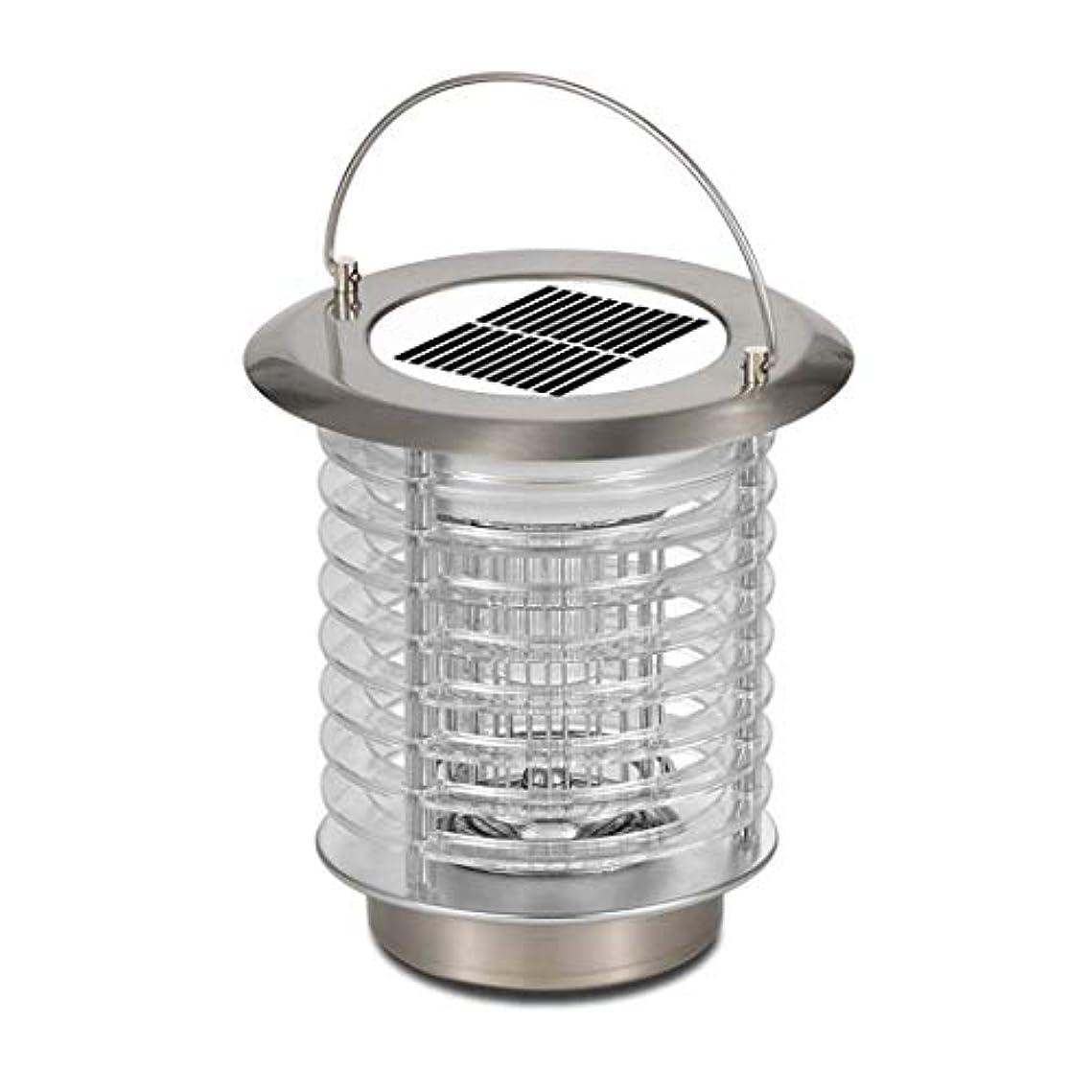 オペレーター現代マネージャー太陽虫ザッパーランプ屋外の携帯用カのキラーランプ、防水はえのキラー、二重機能 - 昆虫のキラー及び庭ライト結合された、USB動力を与えられた