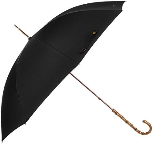 (マッキントッシュ フィロソフィ)MACKINTOSH PHILOSOPHY 婦人長傘 無地 超撥水仕様 スリムスタイル 21-431-20510-00 15-55 ブラック 親骨の長さ 55cm