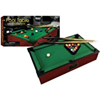 New Club Fun Tabletop Executive Pool Table W/ Numbered Balls 2 Cue Sticks [並行輸入品]